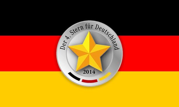 Vierte Stern fuer Deutschland