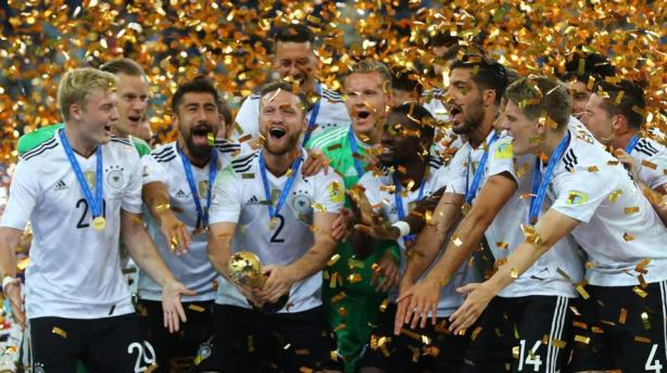 Confed cup Germans